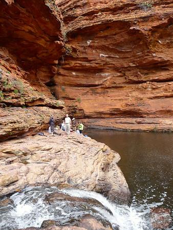 Kings Canyon Hike- Garden of Eden - Australia 13