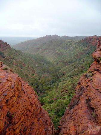 Kings Canyon Hike - Australia 7
