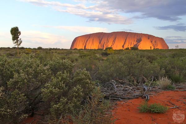 Sunset Uluru photo 3