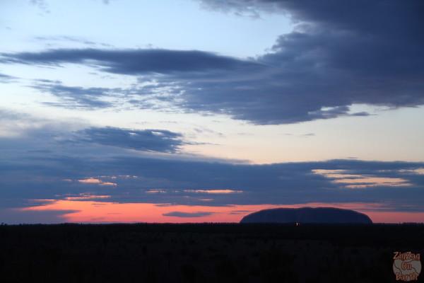 Desert Awakering Uluru red centre photo 3