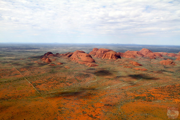 Helicopter flight over Kata Tjuta photo 1