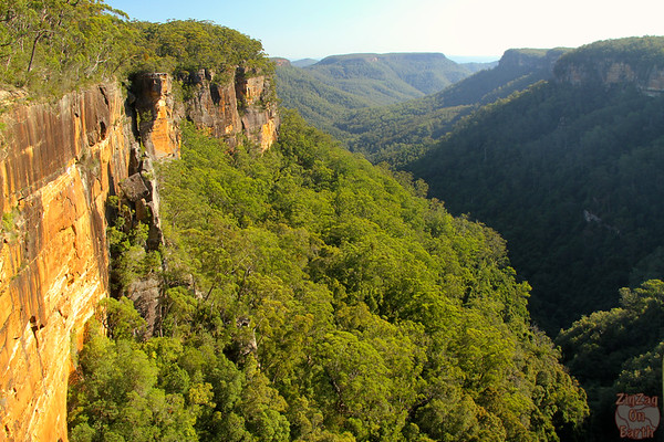 View from Fitzroy falls platform, NSW