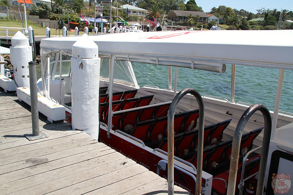 Boat for Jervis Bay cruise