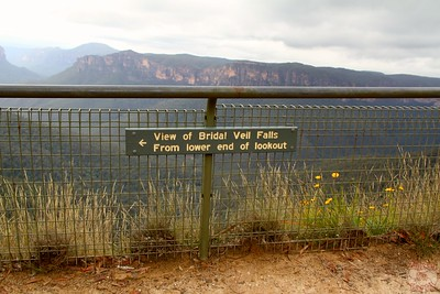Bridal Veil Falls Lookout - Blue Mountains, Australia 1