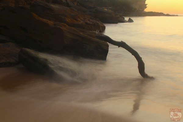 sunrise at  Wattamolla lagoon, Royal National Park 2
