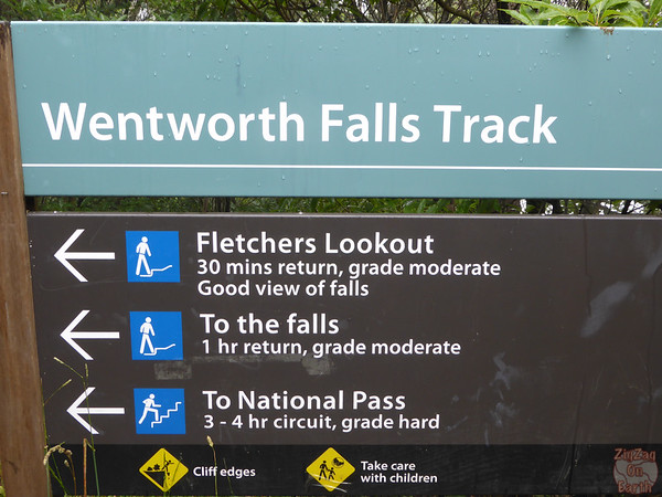 Wentworth Falls Track - Blue Mountains, Australia 1