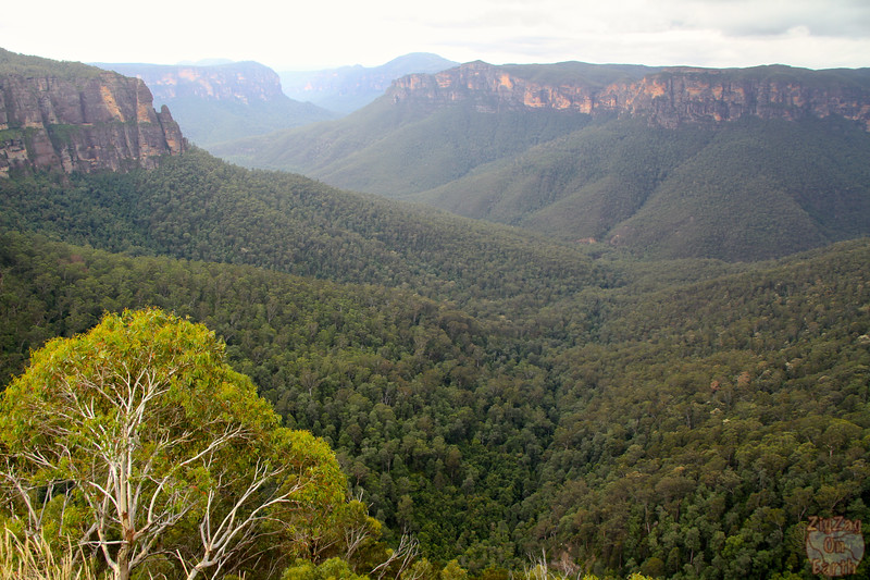 Bridal Veil Falls Lookout - Blue Mountains, Australia 4