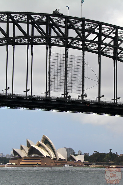 Photographing Sydney Opera house from McMahons point 1