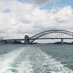 View from ferry to Manly Ibeach 8739