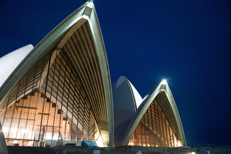Sydney Opera House at night-8851