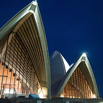 Sydney Opera House at night-8851
