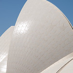Close up Sydney Opera House