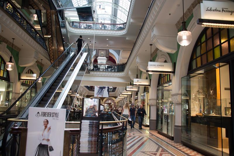 Queen Victoria Building Boutique Shopping Arcade