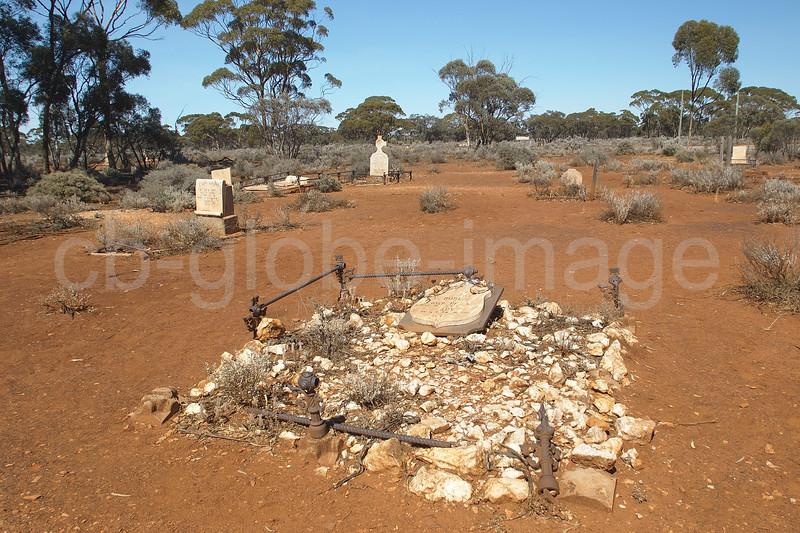 Kalgoorlie Kanowna  old cemetery, Australia