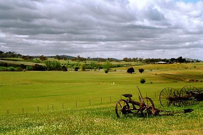 Countryside outside Yass