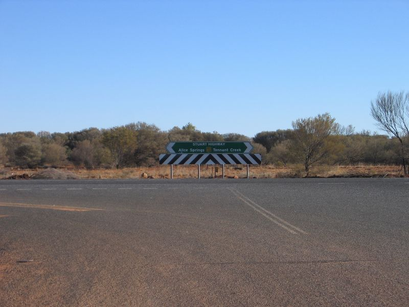 End of The Plenty Highway.