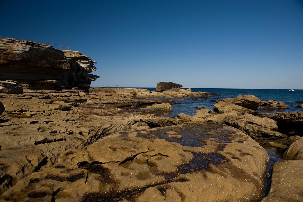 north headland off of bondi beach, sydney