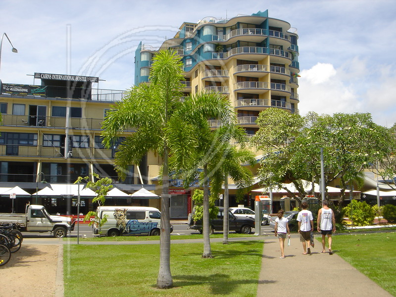 The Esplanade in Cairns.