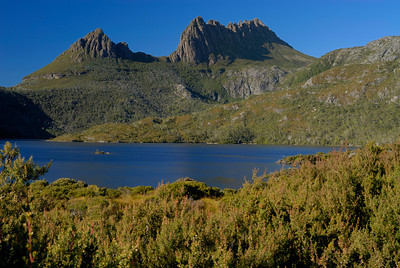 Cradle Mountain over Dove Lake, Tasmania