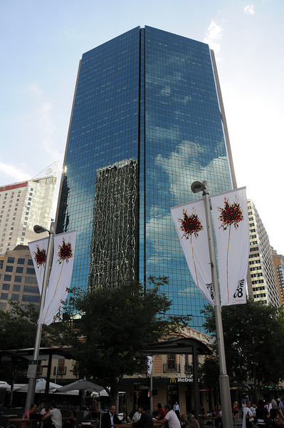 Shiny, shiny <br /> This is the AXA Australia building on Circular Quay
