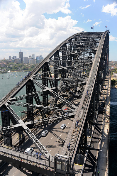 Harbour Bridge from the viewing pylon