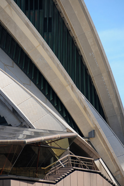 Opera House sail details