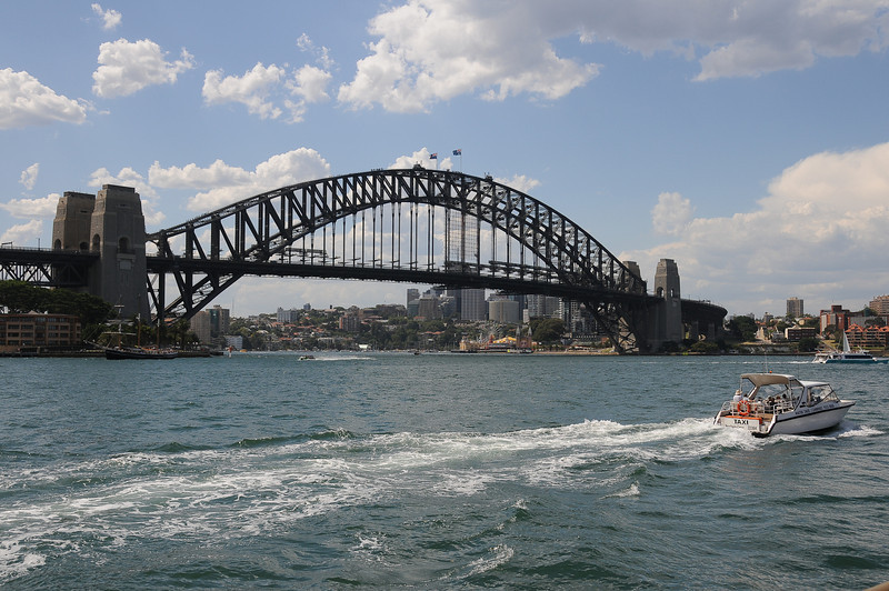 The Harbour Bridge from the Opera House