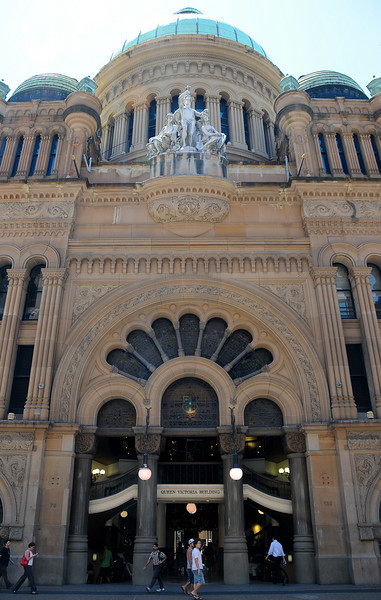Queen Victoria Building <br /> The Queen Victoria Building is typically abbreviated to the QVB