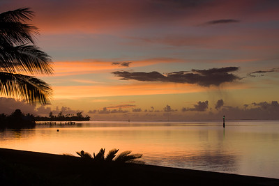 Sunrise in Tahiti