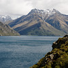 Southern end of Lake Wakatipu (the lake Queenstown is on).