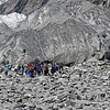 Our group at the face of Franz Joseph Glacier.