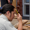 """Wood carving school at Te Puia, the New Zealand Maori Arts and Crafts Institute  <br /> <a href=""""http://www.tepuia.com"""">http://www.tepuia.com</a>"""