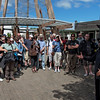 """International tourists being welcomed by Maori guide<br /> Te Puia, the New Zealand Maori Arts and Crafts Institute  <br /> <a href=""""http://www.tepuia.com"""">http://www.tepuia.com</a>"""