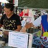 Tibetan momos (dumplings) - they were quite good. Eumundi Markets - a big draw for tourists from all over.