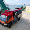 Ferry from Rainbow Beach to Fraser IslandFraser Island Adventure Tours. Access to the island is via ferry.