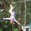 Yep, that's me, upside down in the rainforest