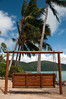 Beach furniture at Palm Bay