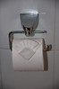 Artistic toilet paper in Hideaway 7
