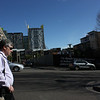 Dad walking in Sydney.