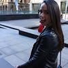 Bianca walking in Sydney.