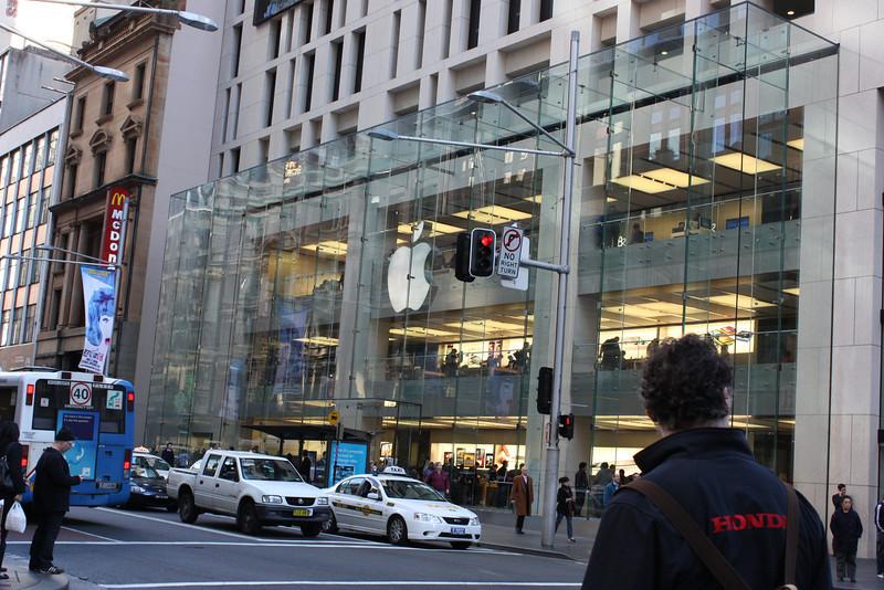 Mac store in Sydney.