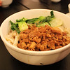 Food at the Noodle House in Chinatown.