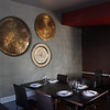 Inside decor of the restaurant.