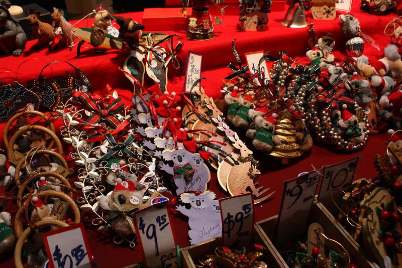 Australian Christmas ornaments.