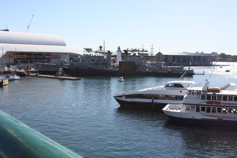 Ferry boats in Sydney.