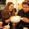 Jo and Daniel at the Noodle House.