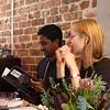 Emma and Nigel at Viva Goa.