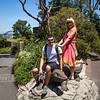 Dev and Chris at zoo.