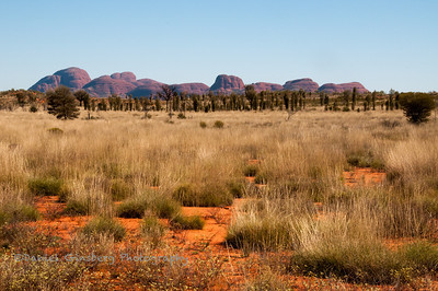 Kata Tjuta / Mount Olga in Uluru-Kata Tjuta National Park