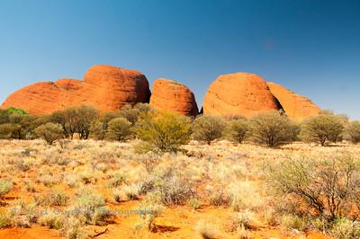Kata Tjuta / Mount Olga in Uluru-Kata Tjuta National Park